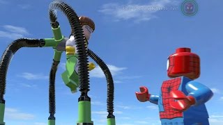 getlinkyoutube.com-LEGO SPIDER-MAN VS DOCTOR OCTOPUS (Battle) - LEGO Marvel Super heroes