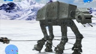getlinkyoutube.com-Star Wars Battlefront 1 gameplay The Battle Of Hoth  Galactic Civil War Mission 6