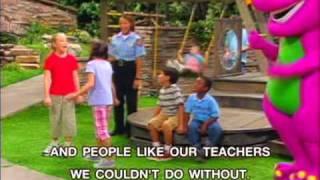 getlinkyoutube.com-Barney - People Helping Other People Song