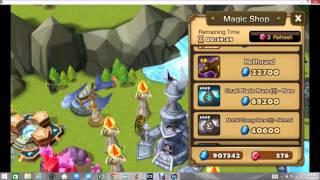getlinkyoutube.com-Summoners War - Mystical Scroll Trick?  (JewBagel)
