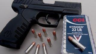 getlinkyoutube.com-.22 LR Handgun for Self Defense?  CCI Stinger Ammo Test