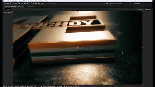 getlinkyoutube.com-Exclusive After Effects Tutorial   3D Gold Logo Reveal   Element 3D