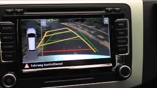 getlinkyoutube.com-VW RNS 510 with rear assist mit Rückfahrkamera / Radio Autoradio Navi carradio car navigation
