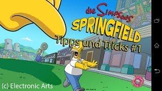 getlinkyoutube.com-5 Tipps zur App Simpsons Springfield