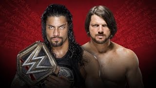 getlinkyoutube.com-WWE 2K16 PS2: Roman Reigns vs AJ Styles - Extreme Rules 2016 - WWE WHC Extreme Rules Match
