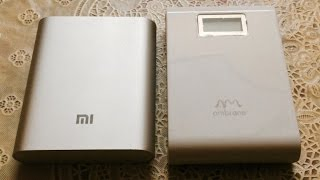 getlinkyoutube.com-Xiaomi mi powerbank vs Ambrane p-1000