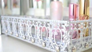 getlinkyoutube.com-DIY Mirrored Vanity Tray
