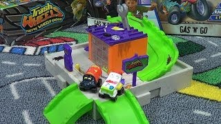 Trash Wheels Gas N Go Playset Product Review