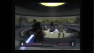 getlinkyoutube.com-Star Wars: Revenge of the Sith PS2 Walkthrough, The Dark Side of the Force - Mace Windu Boss Fight