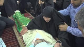"""والدته، وأقرباءه لحظة """"الوداع الفجيع"""" لشهيد السجون """"الشهيد جعفر الدرازي"""" Bahrain"""