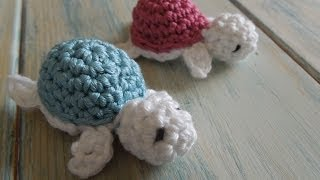 getlinkyoutube.com-(crochet) How To - Crochet a Baby Turtle - Yarn Scrap Friday