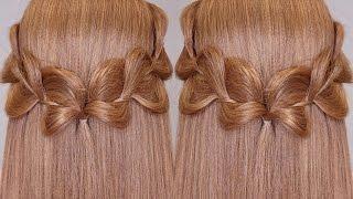 getlinkyoutube.com-3 Strands Uneven Braid Hair Tutorial