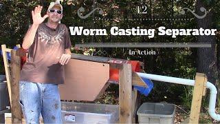 getlinkyoutube.com-DIY Worm Casting Separator 1.2
