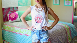 getlinkyoutube.com-DIY T-Shirt Ideas Inspired By Tumblr | Easy & Cute Tumblr Shirts