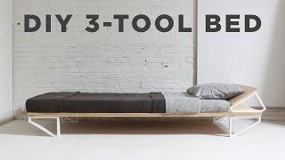 getlinkyoutube.com-DIY Bed | 3-Tool Series