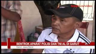 getlinkyoutube.com-Bentrok Aparat Polisi dan TNI AL di Garut