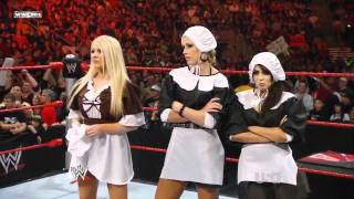 getlinkyoutube.com-WWE Raw Michelle Mccool & Layla & Jillian Vs Melina & Kelly Kelly & Mickie James