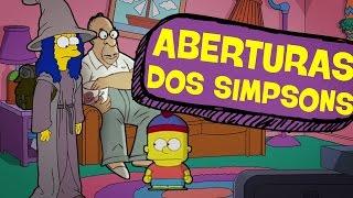 7 ABERTURAS INSANAS DOS SIMPSONS!