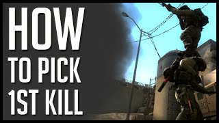 "CS:GO - How to pick the 1st kill ""MIDDLE"" on dust2 - With Ex6TenZ"