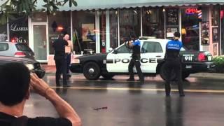 getlinkyoutube.com-Armed Suspect Killed in Police-Involved Shooting on Alton Road in Miami Beach