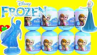 getlinkyoutube.com-Disney Frozen Deluxe Mini Figurines in Frozen Capsules