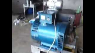 getlinkyoutube.com-machine with counterweights,,, high efficiency in 1.5 kw ..out 15 kw ???