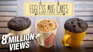 getlinkyoutube.com-Eggless Mug Cakes | 2 Minute Microwave Mug Cakes | Beat Batter Bake With Priyanka