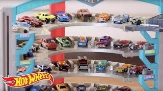 getlinkyoutube.com-Hot Wheels Ultimate Garage Demo Video | Hot Wheels
