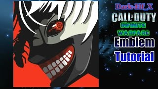Infinite warfare Emblem - Ken Kaneki (Tokyo Ghoul) Darkelf X Call of Duty
