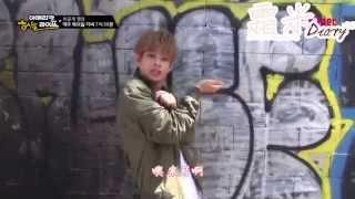 "getlinkyoutube.com-【霜米::DIARY 中字】BTS的American Hustle Life未公开影像 - 美国版""男子汉""MV现场成员的样子是!"