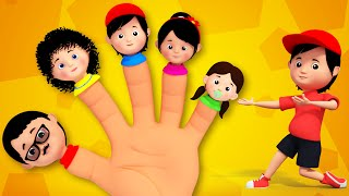 getlinkyoutube.com-Finger Family | Nursery Rhymes From Kids Tv