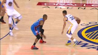 Stephen Curry Drops 28 Points as Warriors Even Series vs Thunder