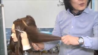 getlinkyoutube.com-김환올림머리-하위양감패턴3(측면의 연출2)
