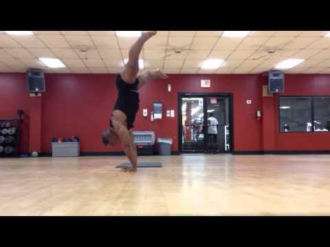 Miles Stovall bodybuilding routine