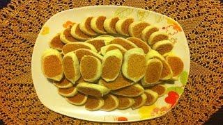 فقاص بالكاوكاو لذيذ وسهل  Feqas aux cacahuètes.