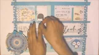 getlinkyoutube.com-♡♡♡ Kikki.K Planner Decoration ♡ Week 13 ♡ (Filofax) ♡♡♡