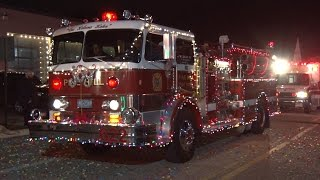 2016 Pine Hill, New Jersey Christmas Parade 12/4/16
