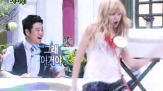 getlinkyoutube.com-100724 HyunAh's pelvic dance Change