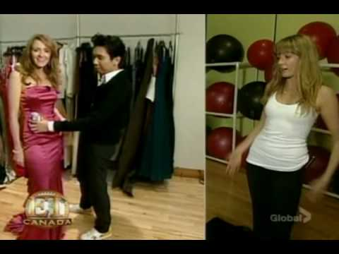Extreme Fitness workout with Helene Joy on Entertainment Tonight Canada