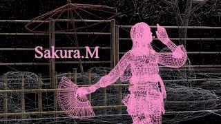 getlinkyoutube.com-SF2 Sakura.M 【MMDモデル】
