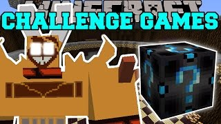getlinkyoutube.com-Minecraft: RAGNAROS THE FIRE LORD CHALLENGE GAMES - Lucky Block Mod - Modded Mini-Game