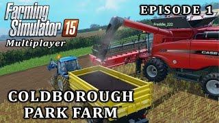 getlinkyoutube.com-Farming Simulator 2015 Multiplayer | Coldborough Park Farm | Episode 1