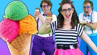 getlinkyoutube.com-Ice Cream Song - Songs for Children | Nursery Rhymes from Bounce Patrol!