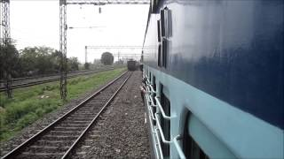 getlinkyoutube.com-Overtake, Re-Overtake and Overtake: Intense Parallel Action on Indian Railways