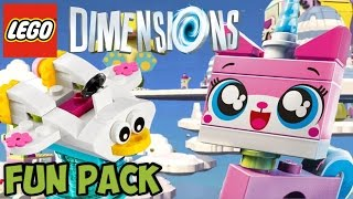 getlinkyoutube.com-LEGO Dimensions: Unikitty (LEGO MOVIE) - Fun Pack - Free Roam + Unboxing (71231)