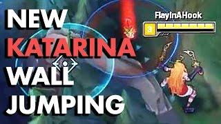 getlinkyoutube.com-NEW KATARINA WALL JUMPING!