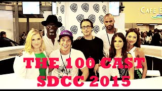 getlinkyoutube.com-I love it! | The 100 Cast [SDCC 2015]