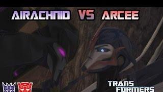 getlinkyoutube.com-Transformers Prime The Game Episode 5. Arcee VS Airachnid