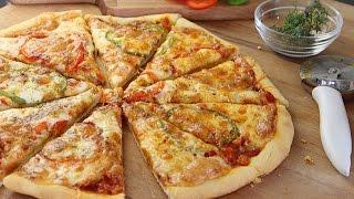 getlinkyoutube.com-Recette de pizza facile / Easy homemade pizza /البيتزا بطريقة سهلة