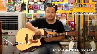 Amari AM419C + EQ Gtone GT3 Review by Freedom Uku Music